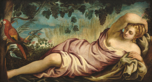 Jacopo Tintoretto: Summer, oil on canvas, c. 1555