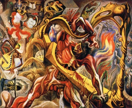 in-the-tower-of-sleep-andre-masson-1983