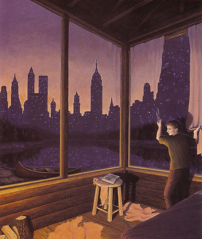 contemporary surrealism rob gonsalves
