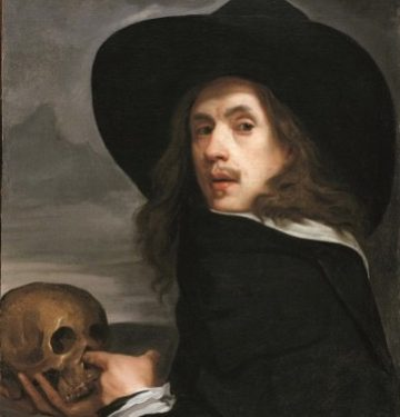 michiel-sweerts-self-portrait-with-skull%22-detail-c-1661-oil-on-canvas