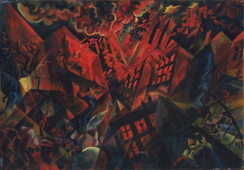 george-grosz-explosion-1917