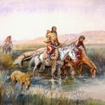 "Charles Marion Russell's ""Indian Women Moving Camp"" – Study & Analysis"