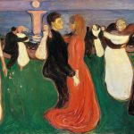 Edvard Munch – Bowing Out Of The Dance Of Life