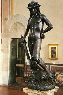 donatello's david statue