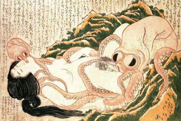hokusai-japanese-courtesan-art
