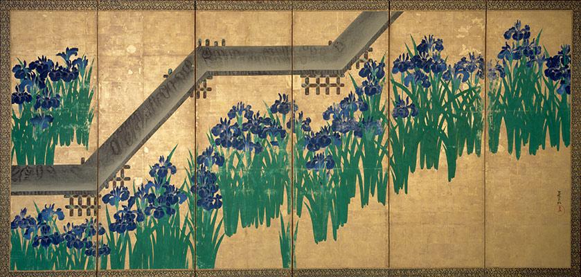 irises-at-yatsuhashi-eight-bridges
