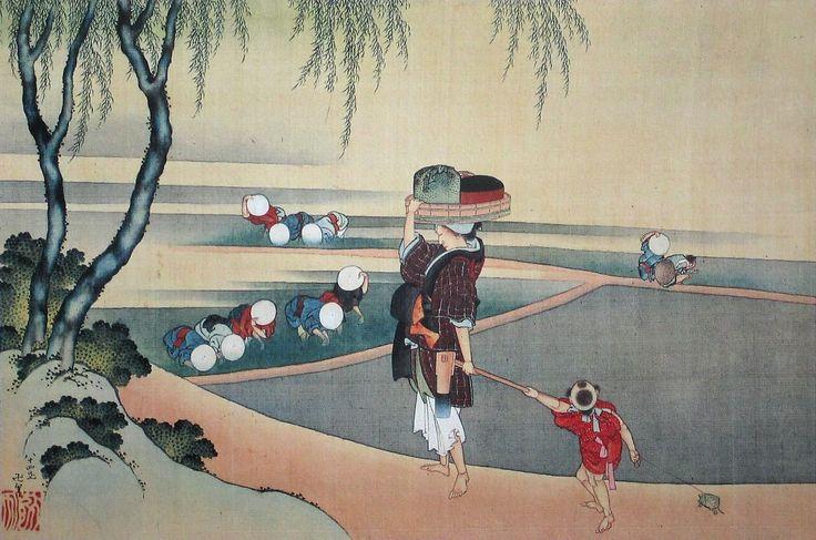 japanese-prints-1843-katsushika-hokusai-nikuhitsu-hokusai