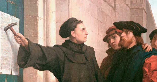 martin luther's 95 theses