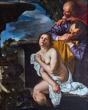Susanna and the Elders by Gentileschi