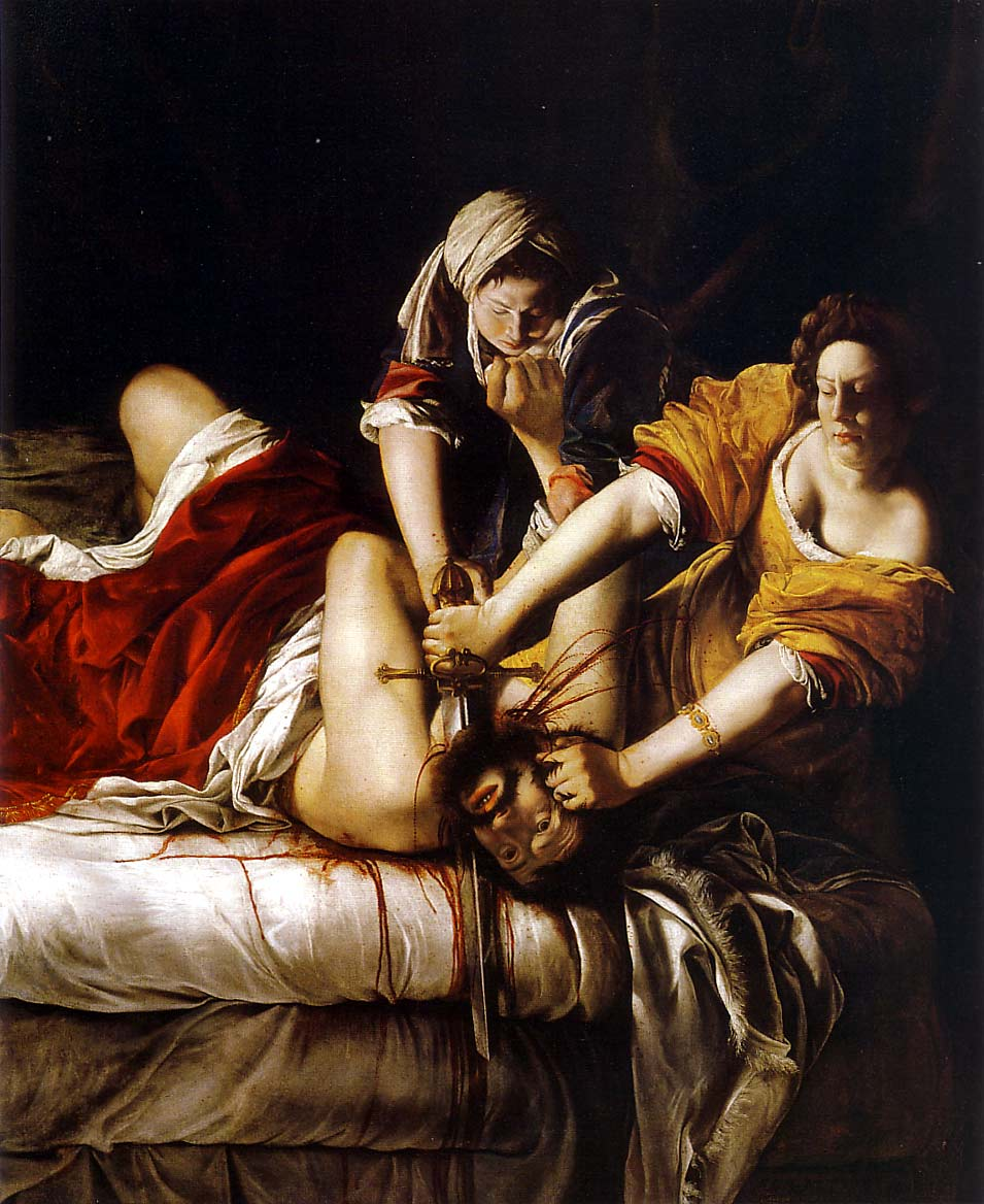 Judith Slaying Holofernes, Artemisia Gentileschi