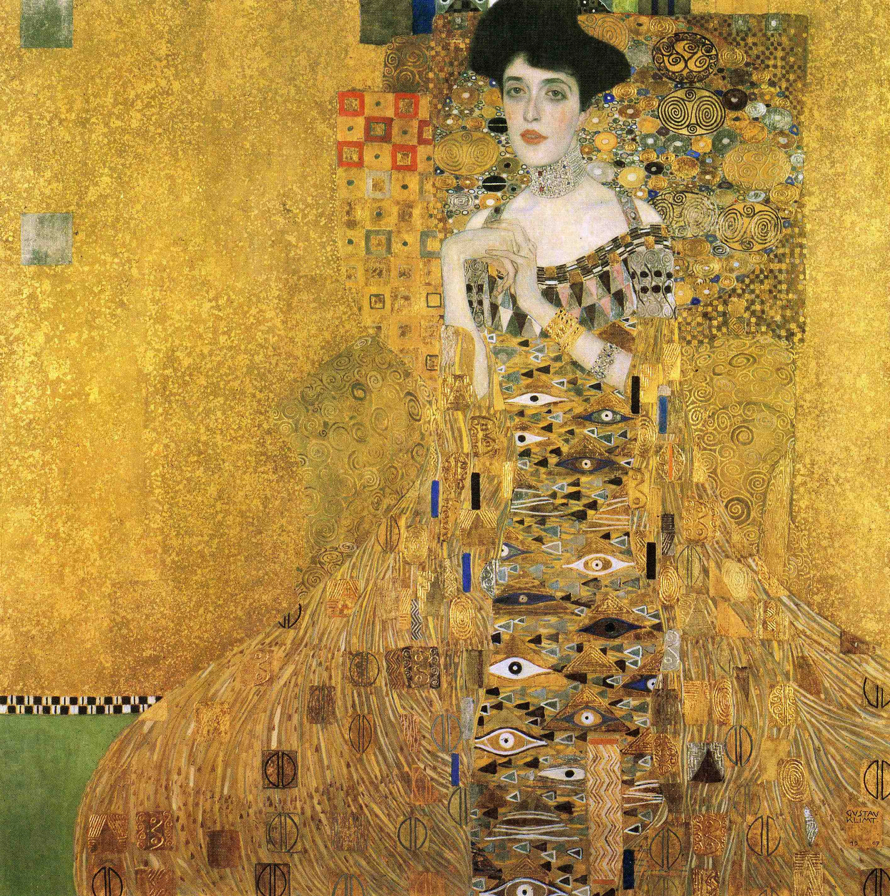 klimt portrait of adele bloch bauer i