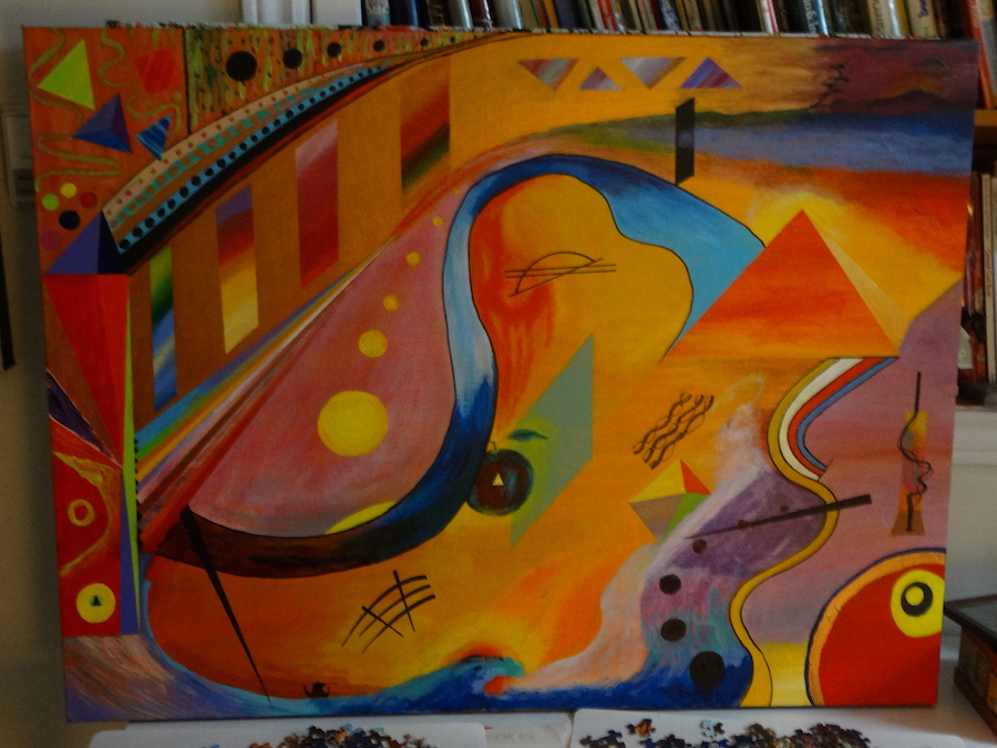 kandinsky painting copy