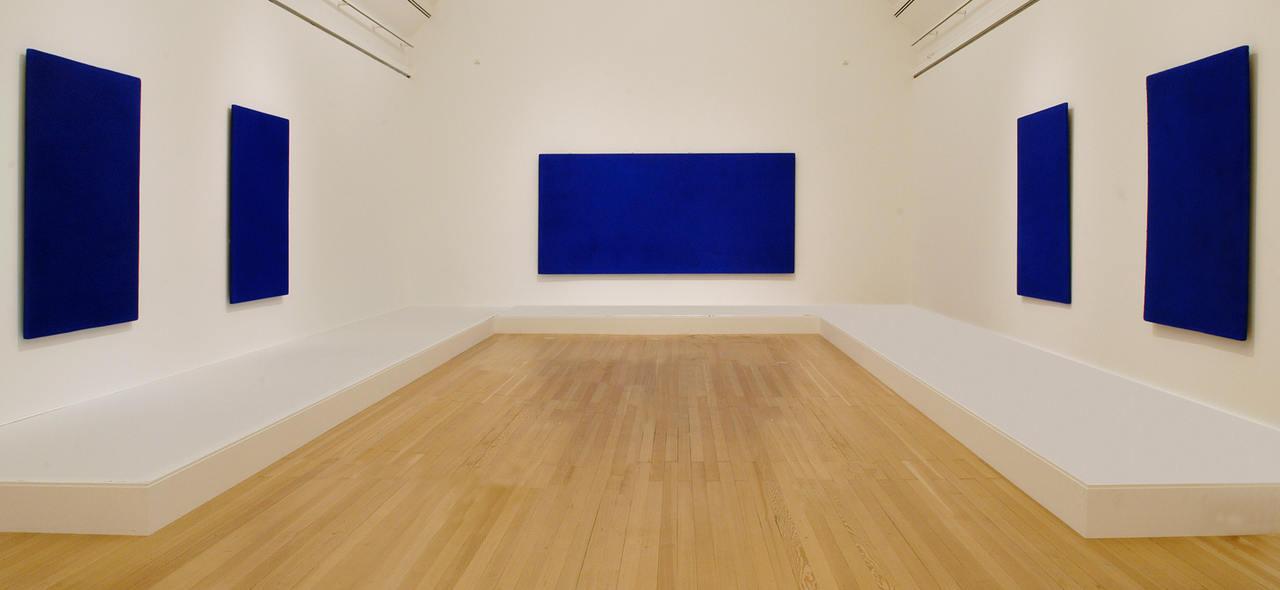 Klein Blue Paintings