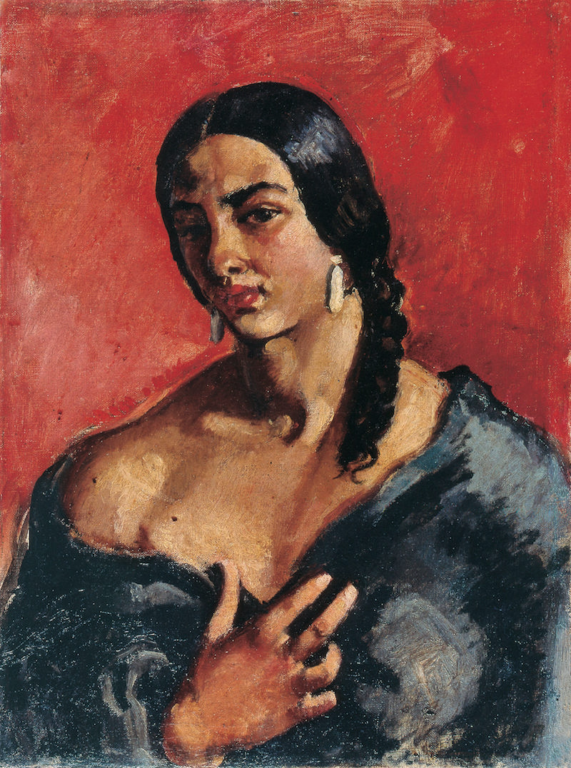 amrita sher gil self portrait