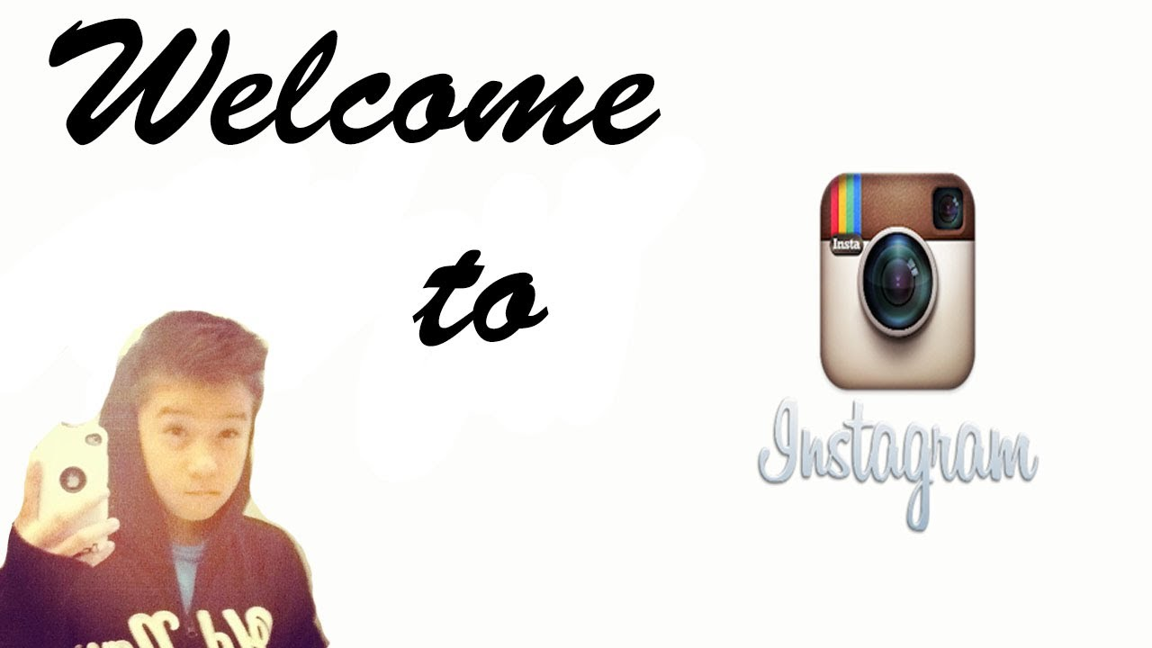 welcome to instagram