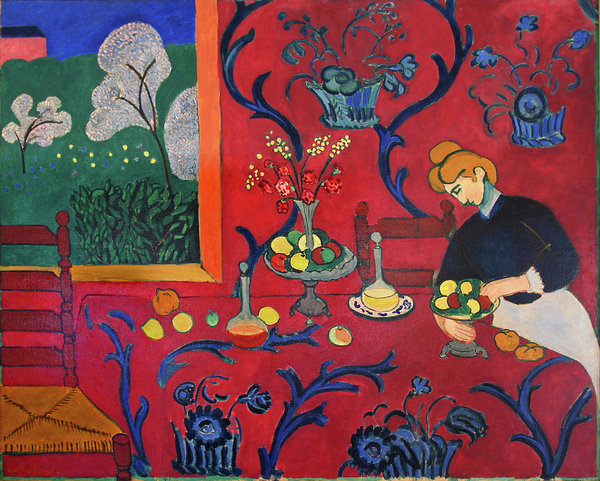 red-room-henri-matisse