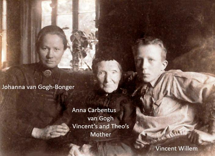 van gogh's family