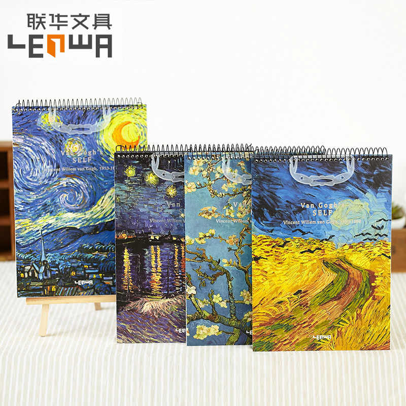 vincent van gogh larrge sketchbook