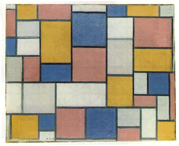 Mondrian,_Composition_with_color_planes_and_gray_lines,_1918