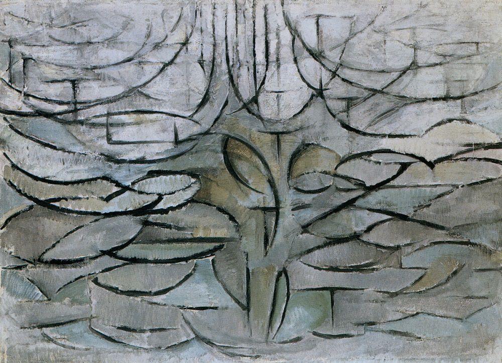the flowering apple tree 1912