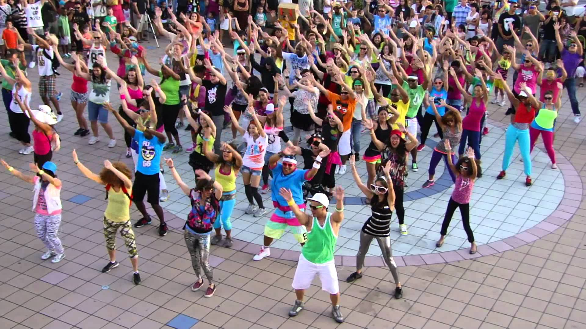 history of the flashmob