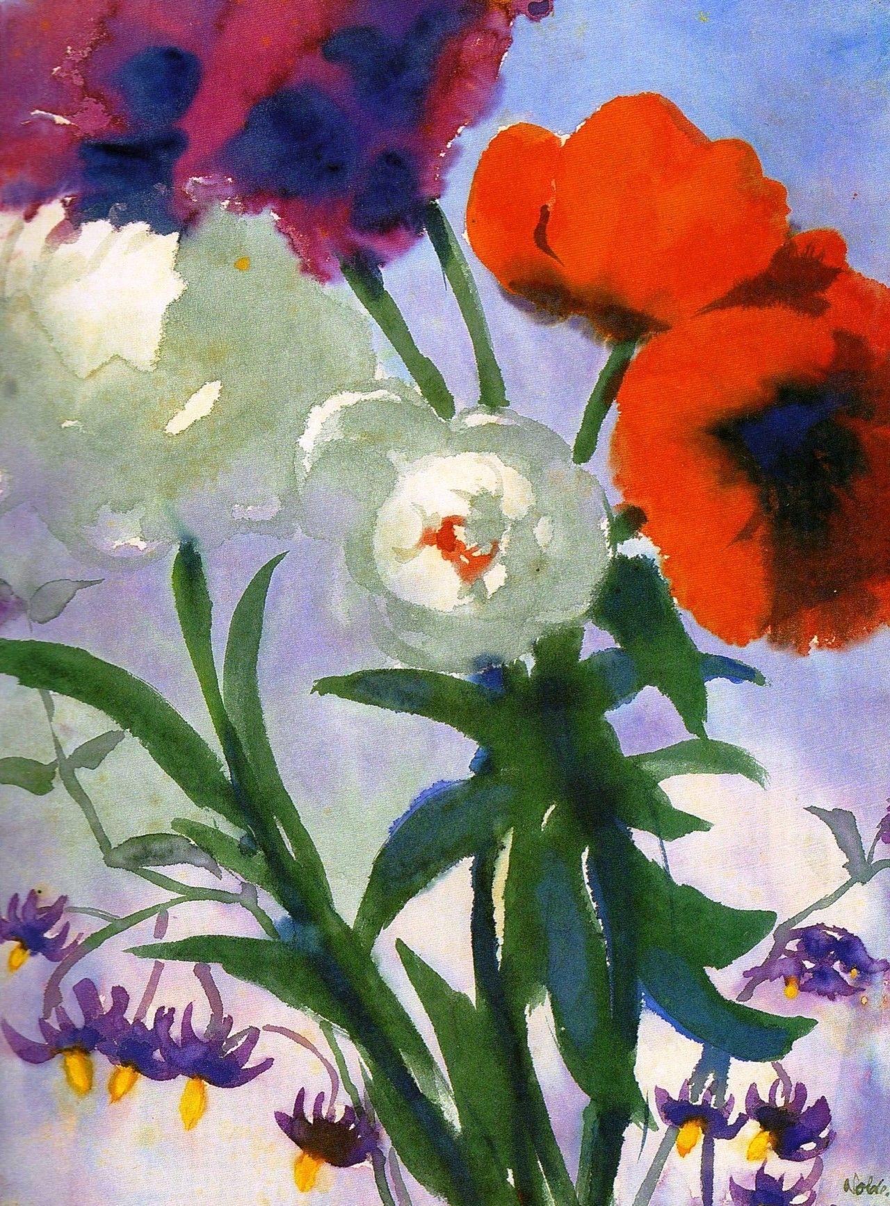 emil nolde flowers