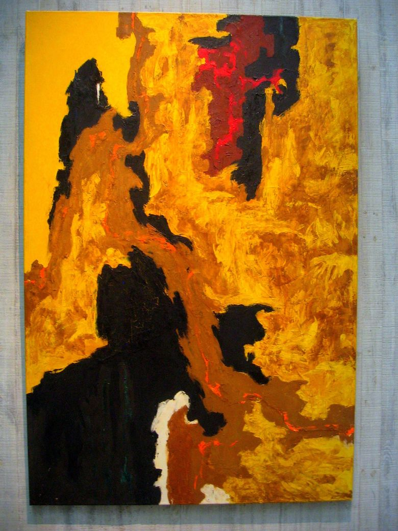 ph-119 by clyfford still 1948