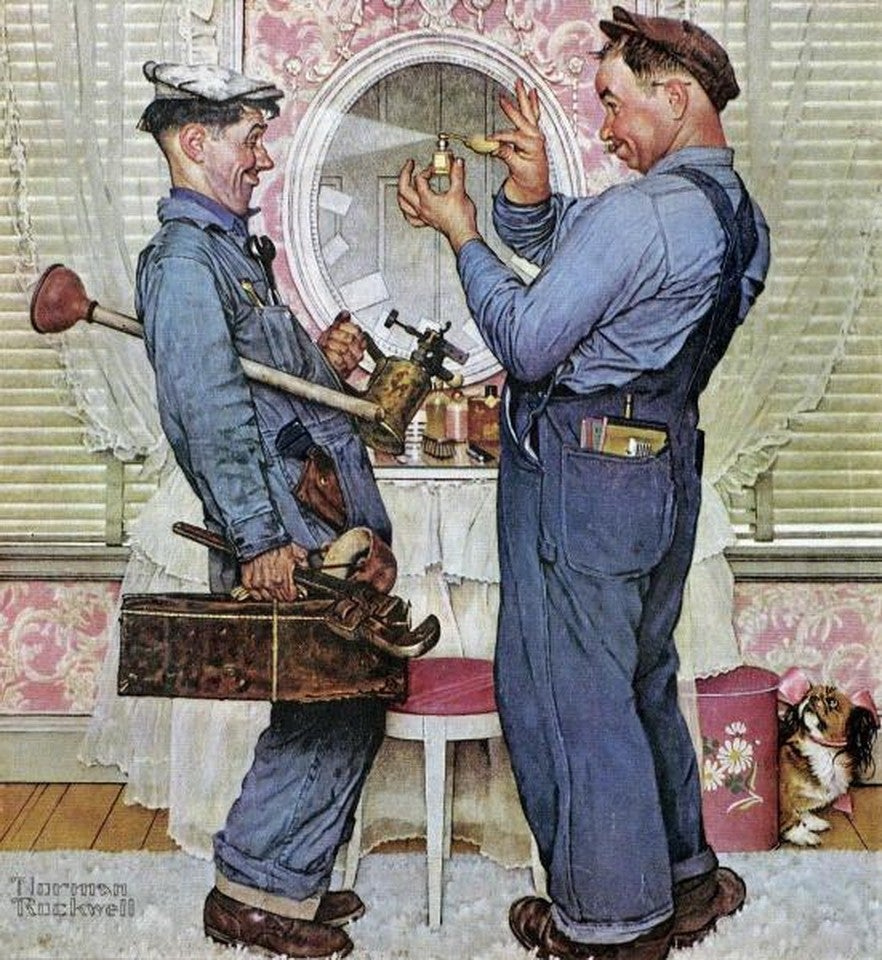 normal rockwell art