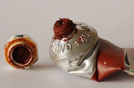 oil paint tube